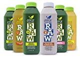 Juice From the RAW 3 Day Believer Juice Cleanse with cashew milk - 18 Bottles - FREE 2-Day Delivery