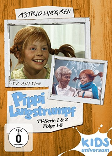 Pippi Langstrumpf - TV-Serie 1+2 (2 DVDs)