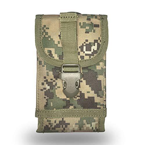 Fertuo DOOGEE S59 Pro / S96 Pro Hülle, Handyhülle Outdoor Handytasche Hülle Cover Handy Schutzhülle Gürteltasche Hüfttasche für DOOGEE S40 Lite / S55 / S60 / S80 / S90 / S68 Pro / S95 Pro (Tarnen 3)