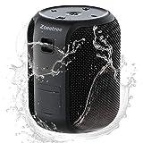 Altavoz Bluetooth Portatil, ZoeeTree Mini Altavoces Bluetooth 5.0 Impermeable IPX7 para Ducha Exterior, 28H de Reproducción, 16w Potente Sonido estéreo de 360 °, Altavoz inalambrico con Micrófono