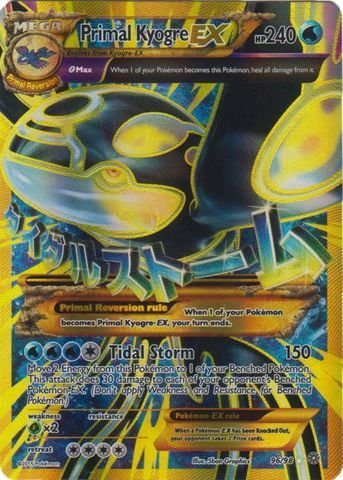 Pokemon - Primal Kyogre-EX (96/98) - Ancient Origins - Holo