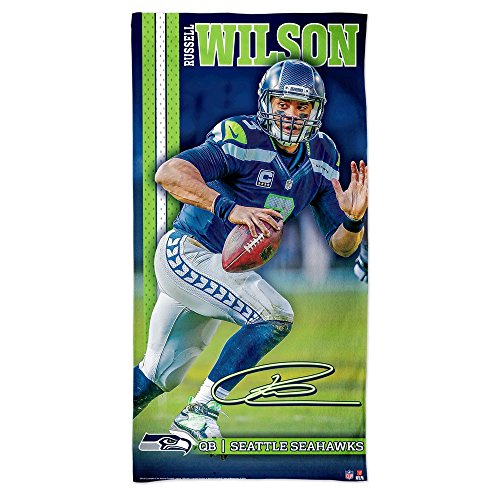WinCraft Russell Wilson Seattle Seahawks NFL Strandtuch