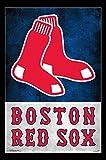 Boston Red Sox� - Logo Poster Print (55,88 x 86,36 cm)