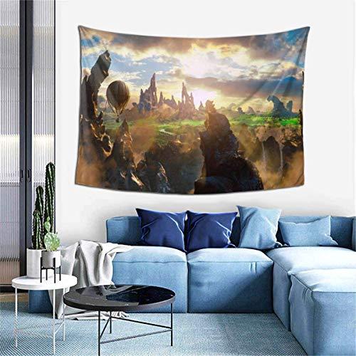 TUCBOA Indoor Tapestry,Mago De Oz Tapiz Grande, Tapices Grandes De Primera Calidad para La Decoración De La Sala De Estar del Hogar,102x152cm