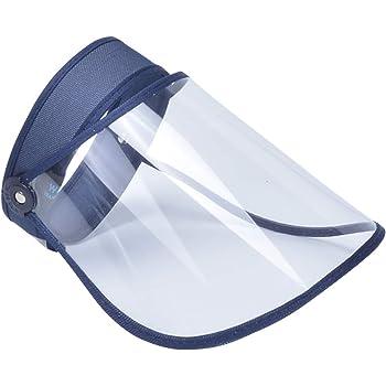 2Pcs Protectores Faciales de Seguridad PET de Proteccion,Aceite de Doble Cara Anti-Fog Anti Splash Transparente Ojos Protecci/ón protecci/ón Facial Visera