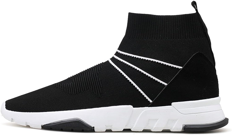 No.66 Town's High -Top Socks springaning gående skor Andable Fly Fly Fly Jogging skor  med billigt pris för att få bästa varumärke