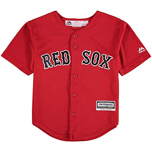 Majestic Andrew Benintendi Boston Red Sox #16 Youth Alternate Jersey Red (Youth Large 14/16)