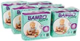 Bambo Nature Eco Friendly Baby Diapers Classic for Sensitive Skin, Size 4 (15-40 Ibs), 180 Count (6 Packs of 30)