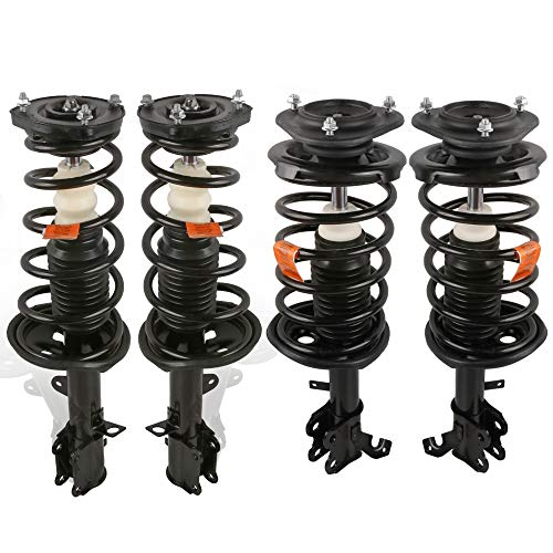 MOSTPLUS Front & Rear Complete Strut & Spring Assemblies Shock Absorbers Compatible for 93-02 TOYOTA COROLLA (Set of 4)