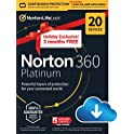 NortonLifeLock 360 Platinum 2021 Antivirus Software for 20 Devices