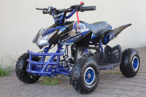 '49 cc Jumpy 4 Premium kinderquad Miniquad ATV Cross pocketquad Quad, naranja