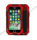 Love Mei - Carcasa para iPhone 7 Plus (Aluminio, Resistente a los Golpes)