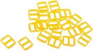 Dolity Pack of 20 Plastic Buckle Snap for Backpack Shoulder Strap Slider Fastener Pet Neck Belt Tie Down