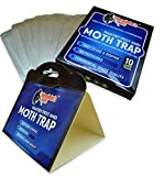 Exterminators Choice 10 Pack Professional Grade Pantry and Moth Traps with Pheromone Attractant | Effective Non-Toxic Safe