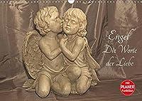 Engel - Die Worte der Liebe (Wandkalender 2022 DIN A3 quer): 12 Engelbotschaften begleiten Sie durchs Jahr. (Geburtstagskalender, 14 Seiten )