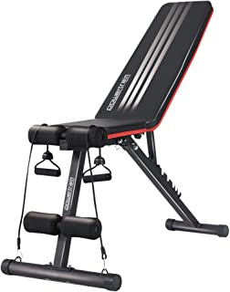 New Flat Incline Decline Home Gym Weight Bench Press Exercise Fitness Seat FID