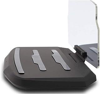 MISSKERVINFENDRIYUN YY4 HUD Car Wireless Charging Stand Car Projection Wireless Charging Mobile Navigation Bracket Standard Fast Charging (Color : Black)