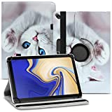 Nauci Tablet Schutz Hülle kompatibel für Xiaomi Mi Pad 5 / Pro 11 Zoll aus hochwertigem Kunstleder mit Standfunktion 360° Drehbar, Farben:Motiv 5