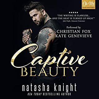 Captive Beauty audiobook cover art