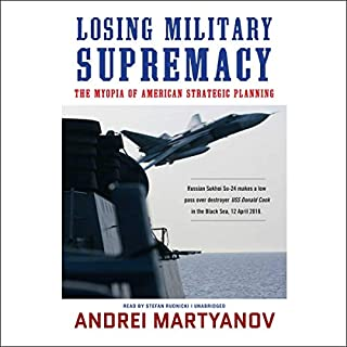 Losing Military Supremacy audiobook cover art