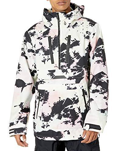 Volcom Brighton Pullover Jacket Anorak, Colores Variados, L para Hombre