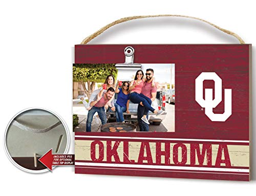 KH Sports Fan Team Colore Oklahoma Sooners Clip Logo Photo Frame