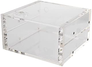Tosuny Water Cooling Tank,1.25L Water Cooling Tank Cooling Reservoir All Transparent Acrylic Computer Accessories