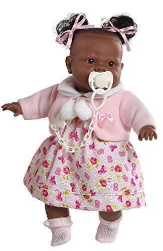 Berbesa - Alicia, muñeca Negrita llorona, 38 cm (4352)