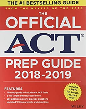 The Official ACT Prep Guide 2018-19 Edition  Book + Bonus Online Content