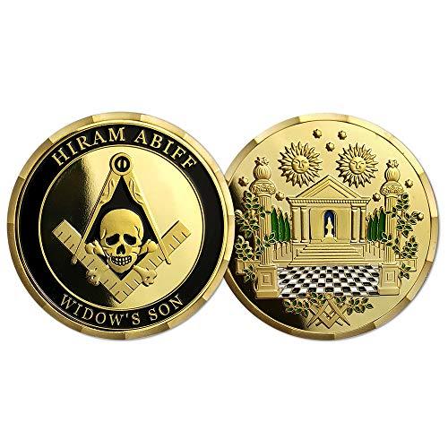 Masonic Coin Hiram Abiff Widow's Son