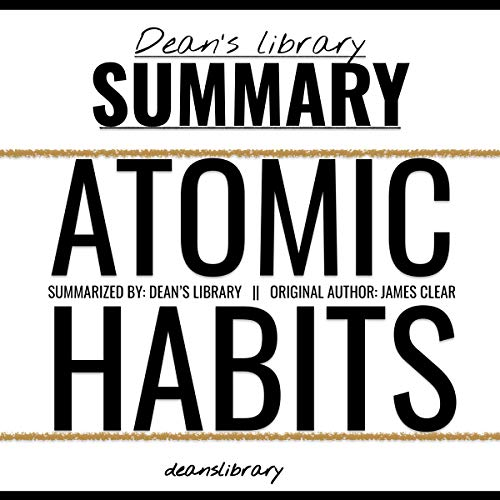 Summary: Atomic Habits by James Clear cover art