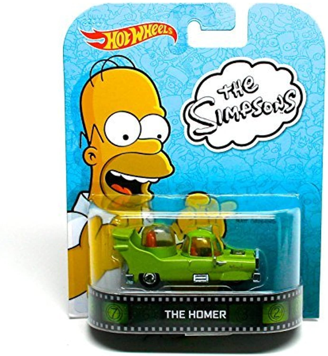 The Homer   The Simpsons  Hot Wheels 2013 Retro Entertainment Series Die Cast Vehicle by Hot Wheels by Hot Wheels