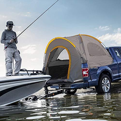 Qnlly Tragbare Camping-LKW-Zelt Wasserdichtes LKW-Zelt Pickup Truck Bed Floding Auto Zelt für Camping Fischen (S/M/L),S