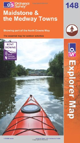OS Explorer map 148 : Maidstone & the Medway Towns