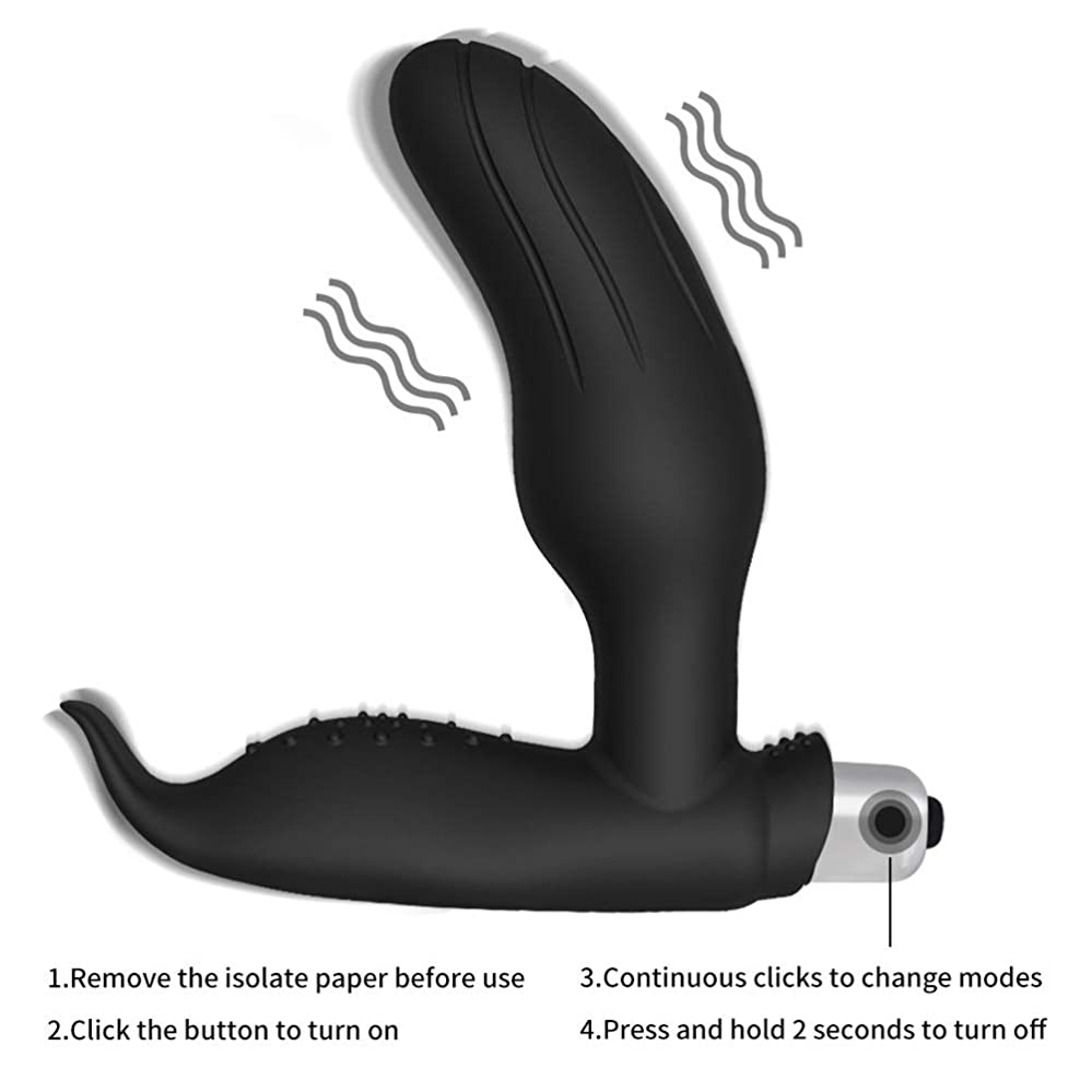 レース無謀内陸NZSZMHS Prostate Massager A-Man Plug用Man G Spot ButtplugVíbrators初心者