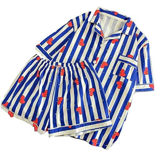 Silver Basic Damen BTS Fashion Pyjama Set Cartoon Nachtwäsche Chimmy Cooky Tata Lila XL