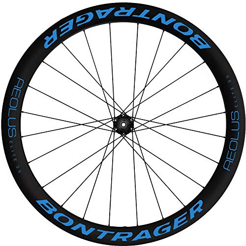 Pegatinas Llantas Bicicleta BONTRAGER Aeolus Elite 35 Disc WH70 Azul 517