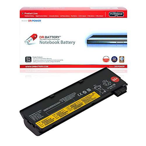 Dr. Battery Laptop Battery for Lenovo 68+ 45N1136 0C52862 ThinkPad X240 X250 T440 T440s T450 T450s T460 T460p T470p T550 T560 L450 L460 [10.8V/4400mAh/48Wh]