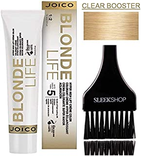 Joico Blonde Life HYPER HIGH LIFT Collection Creme Color (STYLIST KIT) (CLEAR BOOSTER) Cream Haircolor
