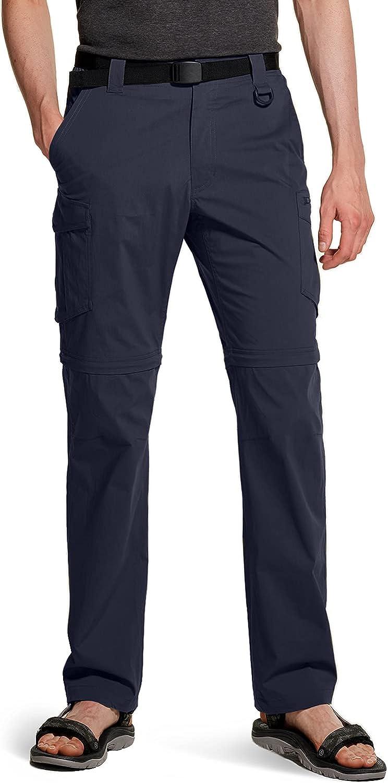 CQR Men's Convertible Max Max 64% OFF 88% OFF Cargo Hiking Water Repellent Pants