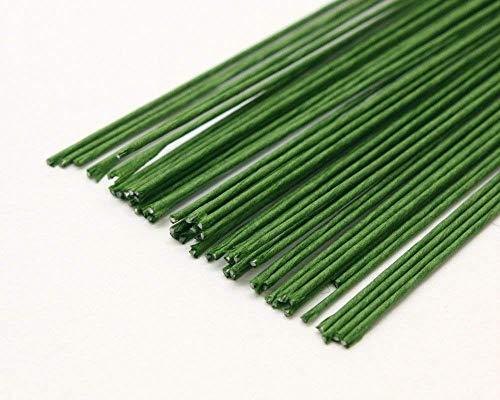 Floral Wire - Dark Green 22 Gauge - Pack of 20
