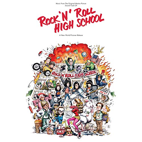 Rock N Roll High School (Music From The Original Motion Picture Soundtrack)(Tri-colored vinyl red/orange/yellow)