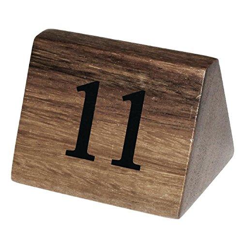 Olympia cl393Holz Tisch Nummer Schilder, Nr. 11–20(10Stück)