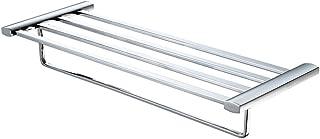 """ALFI brand AB9539-PC Towel Bar and Shelf Bathroom Accessory, 24"""", Polished Chrome"""