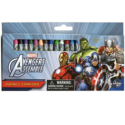 Marvel Avengers 24Pack Crayons