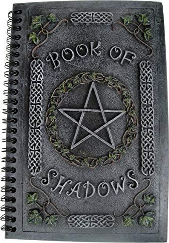 Nemesis Now Ivy Book of Shadows - Diario, 18 cm, colore: Grigio