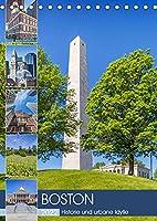 BOSTON Historie und urbane Idylle (Tischkalender 2022 DIN A5 hoch): Sehenswuerdigkeiten und Wahrzeichen (Monatskalender, 14 Seiten )