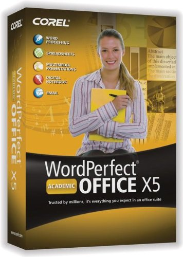 WordPerfect Office X5 Academic English/French (bilingual software)