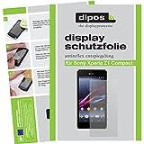 dipos I 2X Schutzfolie matt kompatibel mit Sony Xperia Z1 Compact Folie Bildschirmschutzfolie
