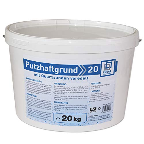 Putzhaftgrund PG20 Quarzsand Grundierung Putzgrund 20kg Quarzgrund Voranstrich